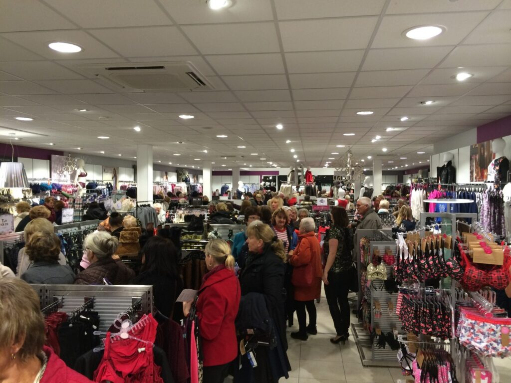 Opening night at the new Cleveleys M&Co, 27.11.14. Photo: Visit Cleveleys