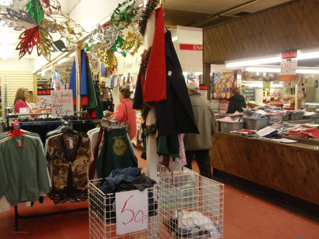 Inside Victoria Market at Cleveleys before it closed. Photo: Visit Cleveleys