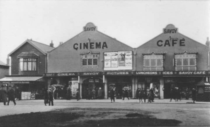 Savoy Cafe, then Victoria Market, posted in Thornton Cleveleys Past by Brian Hughes