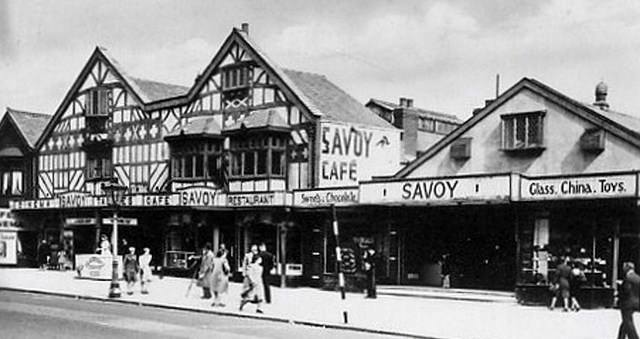 Savoy Cafe, then Victoria Market, posted in Thornton Cleveleys Past by Stefan Rzatkowski