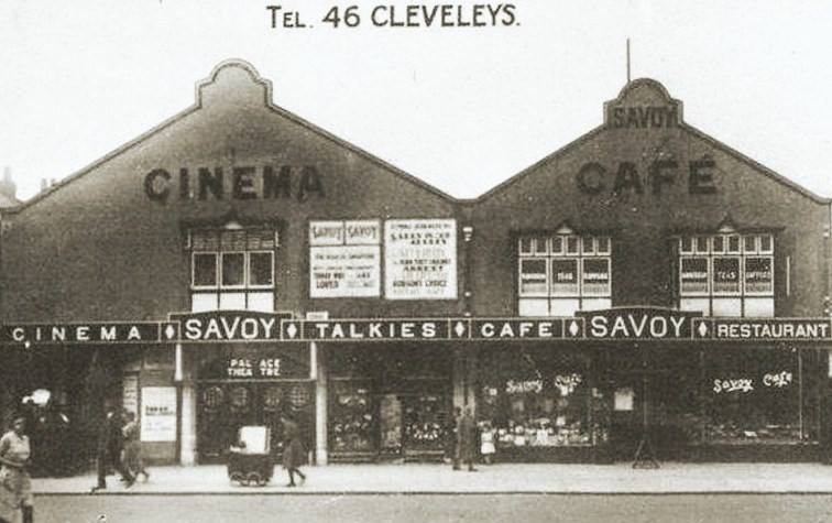 Savoy Cafe, then Victoria Market, posted in Thornton Cleveleys Past