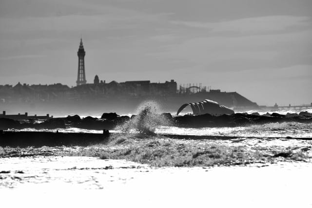 View of Blackpool from Cleveleys