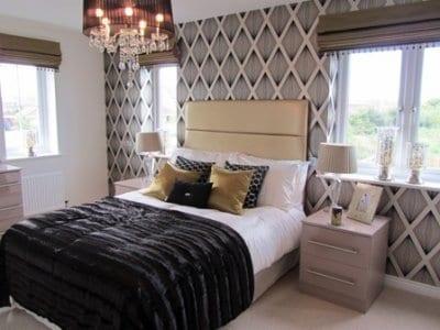Bedroom at Barratt Homes, Thornton