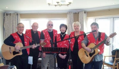 Cleveleys Writers visit Fleetwood Hall Care Home