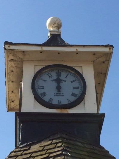 The William Potts clock at Cleveleys - history of the clock shelter