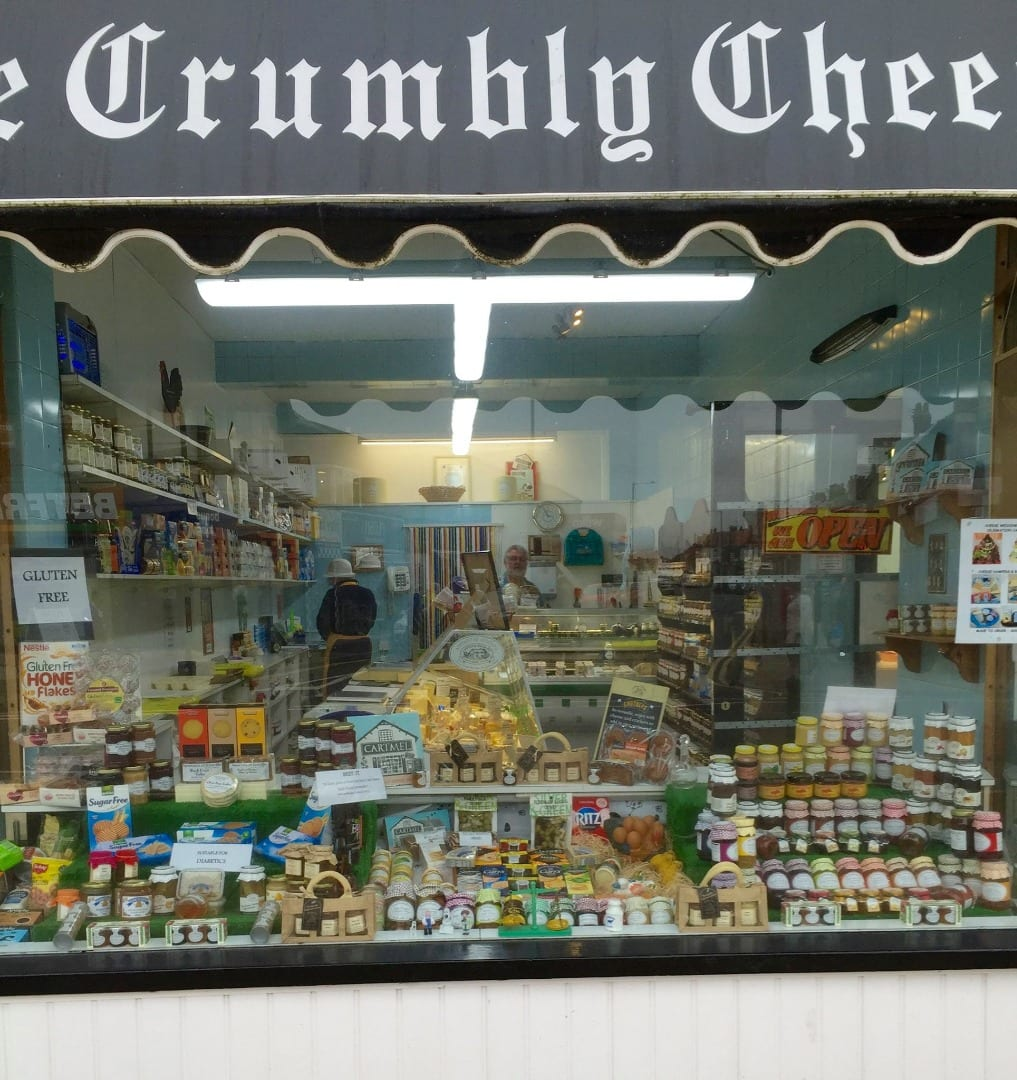 Crumbly Cheese Shop in Cleveleys