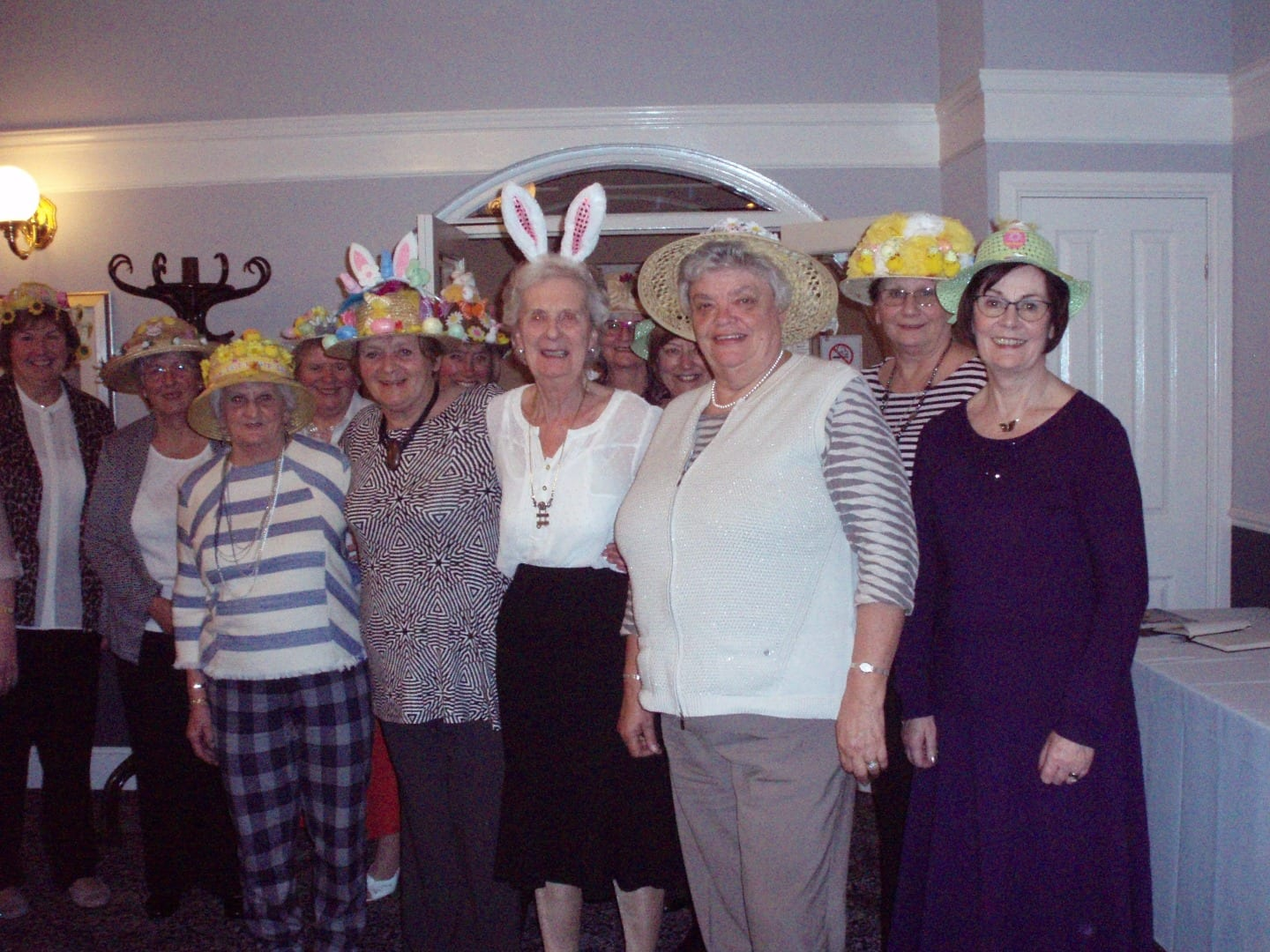 Easter Bonnet Parade with Thornton Cleveleys Inner Wheel