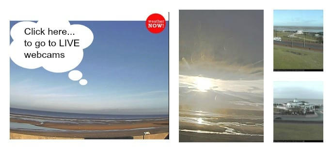 Live weather webcams for Cleveleys