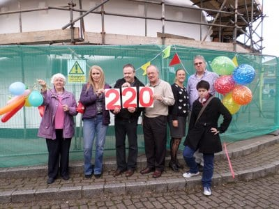 Friends of Marsh Mill celebrate 220 years