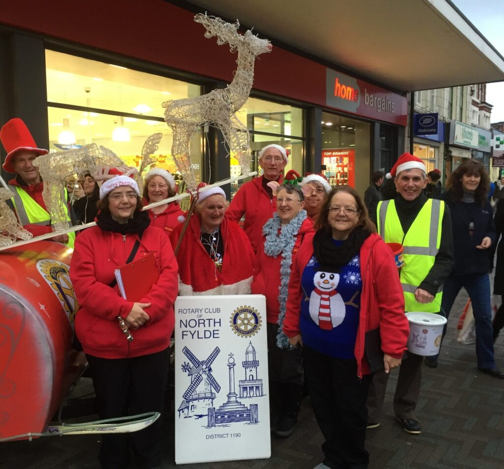 Meet Santa in Cleveleys with North Fylde Rotary Club