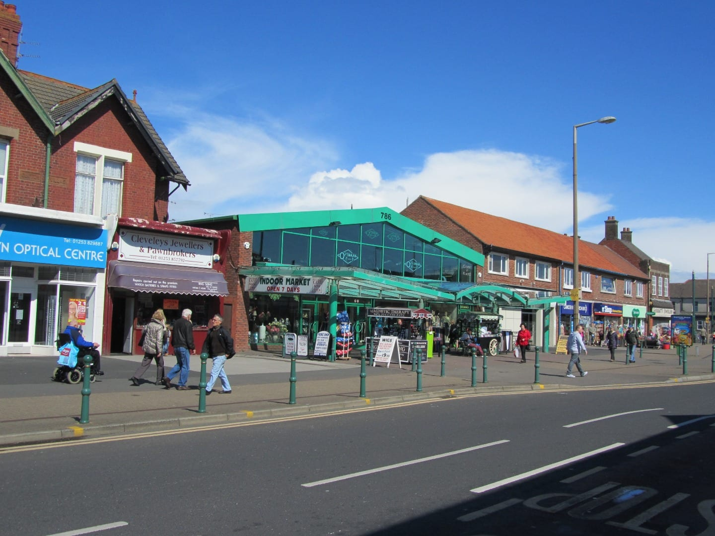 Green Market, Victoria Shopping Village Cleveleys
