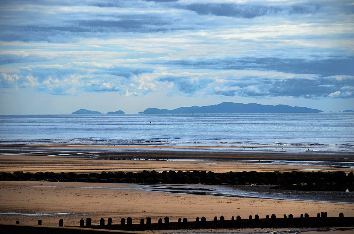 View of North Wales from Cleveleys