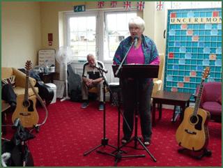 Cleveleys Writers Perform at Warren Manor