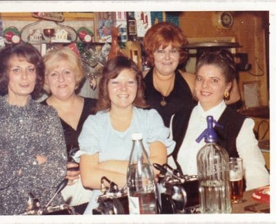Barmaids from the Bay Horse around 1970