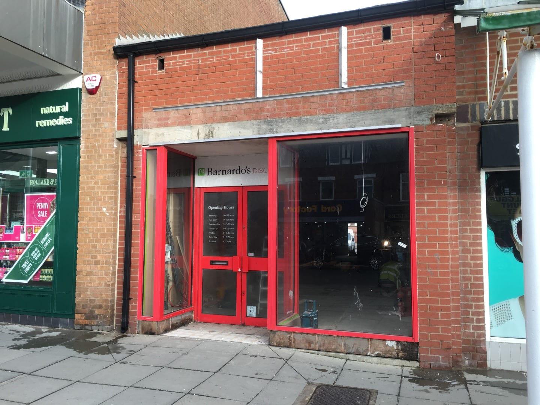 Former Barnardos store in Cleveleys