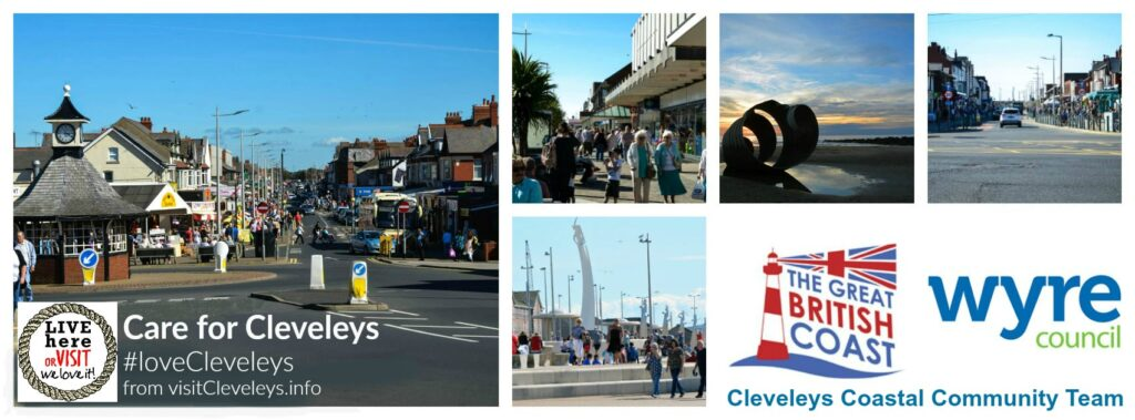 Cleveleys Coastal Community Team, looking after the town centre