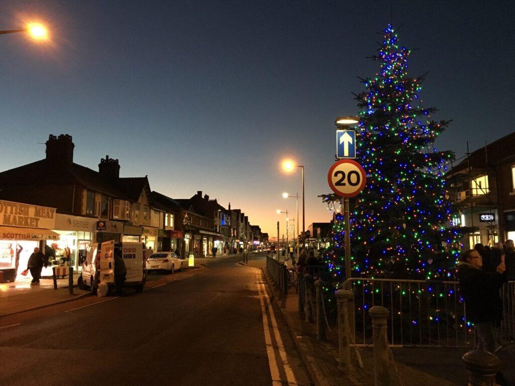 Cleveleys Christmas Lights