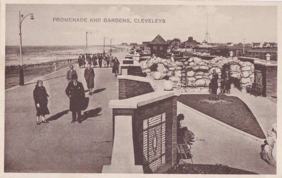 Promenade gardens at Cleveleys