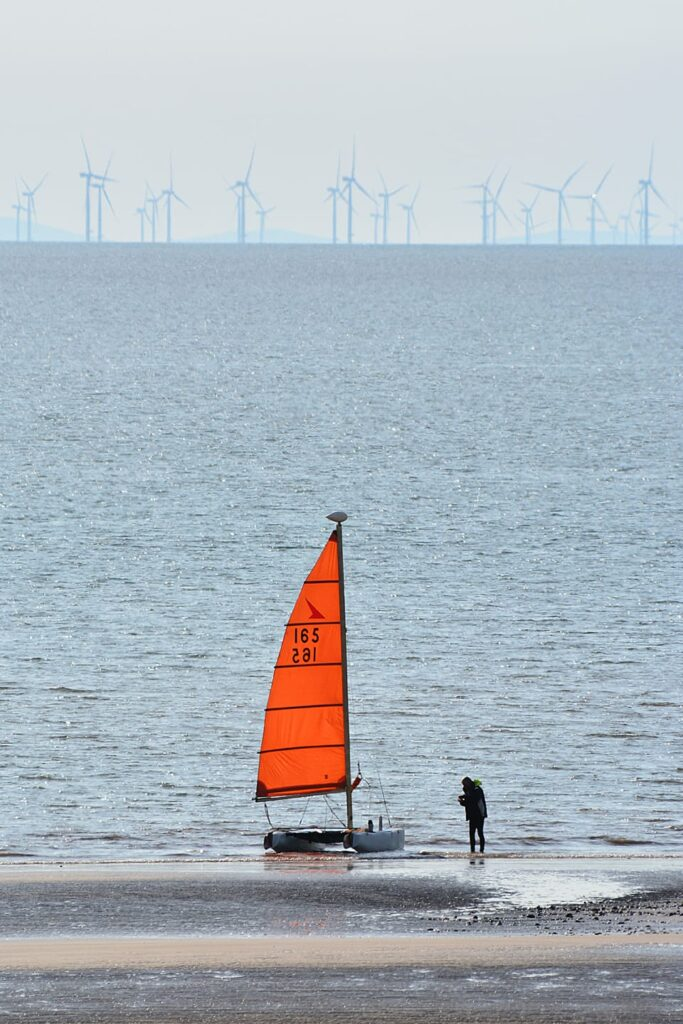 Yachting at Cleveleys