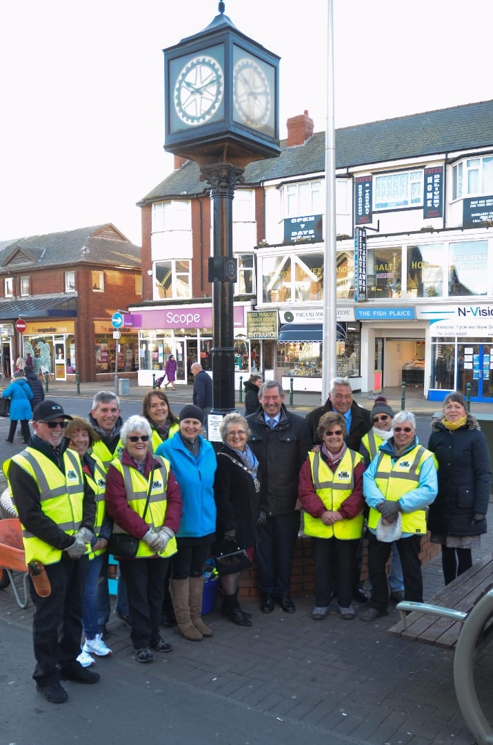 High Sheriff visits Cleveleys Coastal Community Team. Cleveleys Coastal Community Team updates