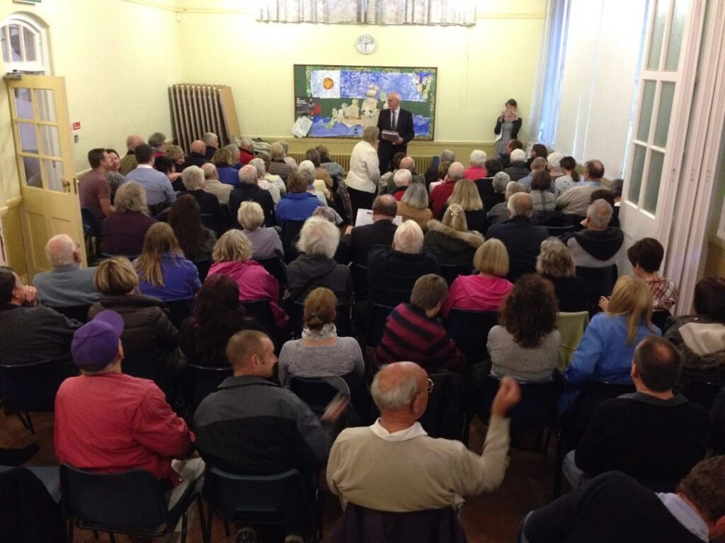 Talk about the Lost Village by Ken Emery for Rossall Beach Residents and Community Group