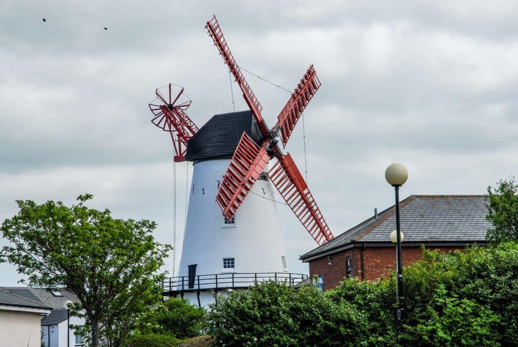 Marsh Mill windmill at Thornton