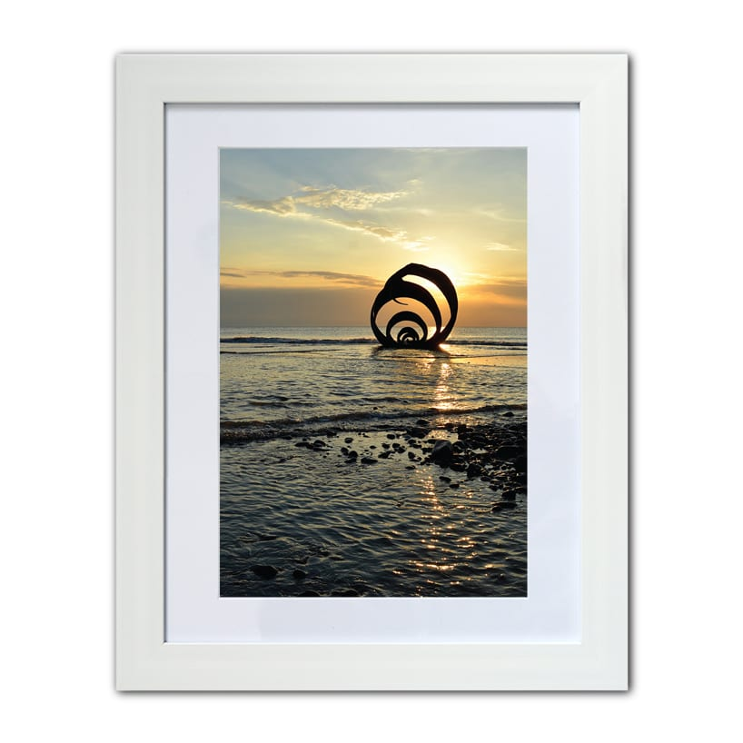 Photo of Mary's Shell on Cleveleys beach from Seaside Emporium