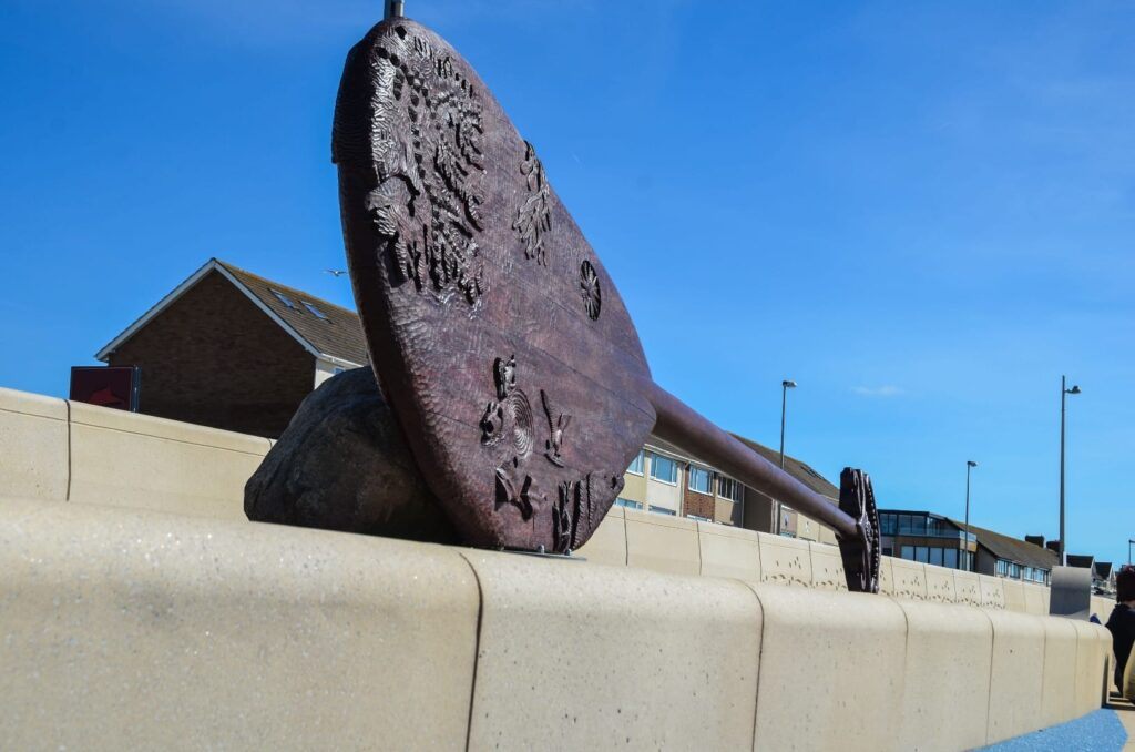 Giant Ogres Paddle at Cleveleys seafront