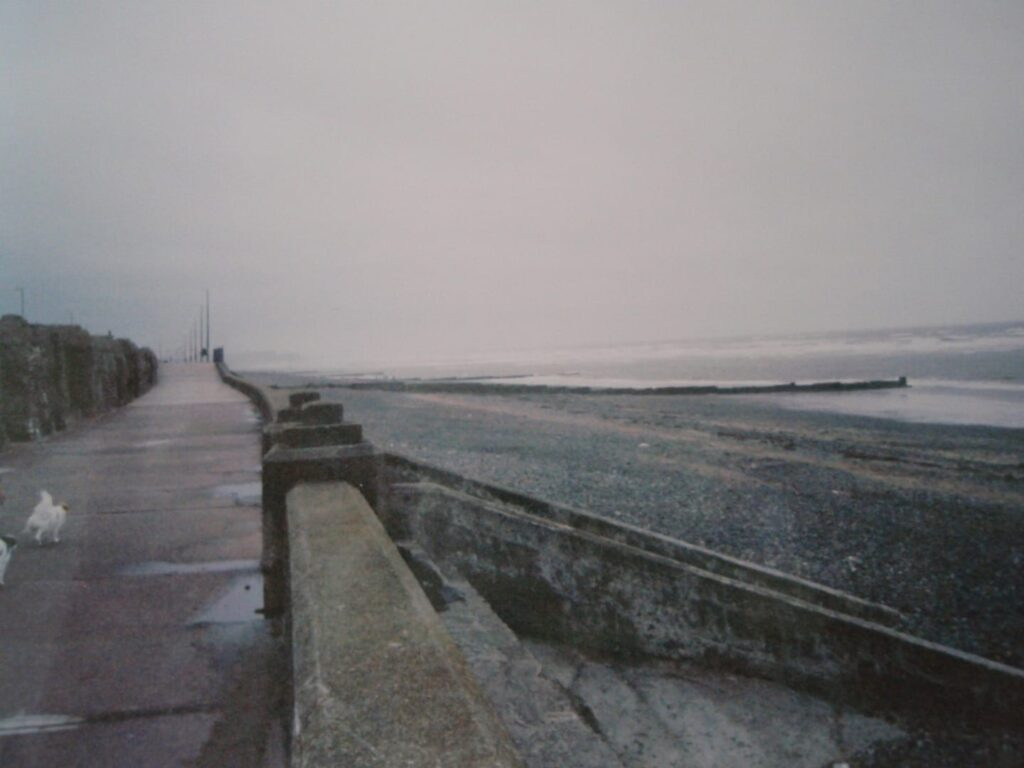 Old Cleveleys seawall