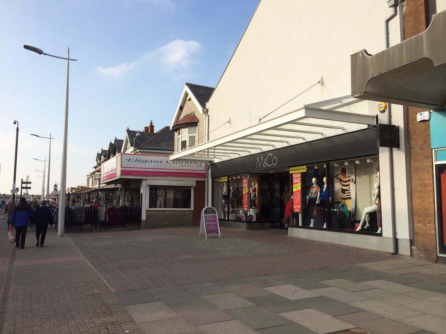 New M&Co store on Victoria Road West Cleveleys