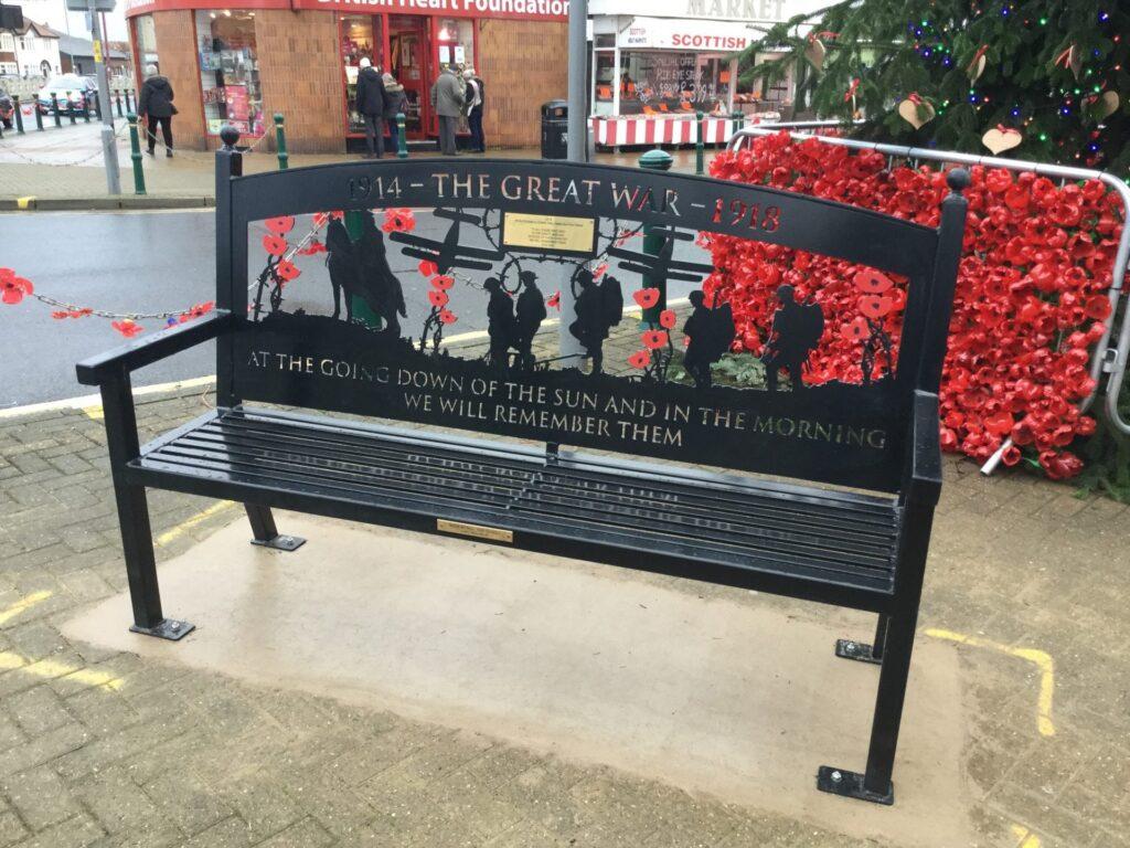 Town Centre Memorial Benches
