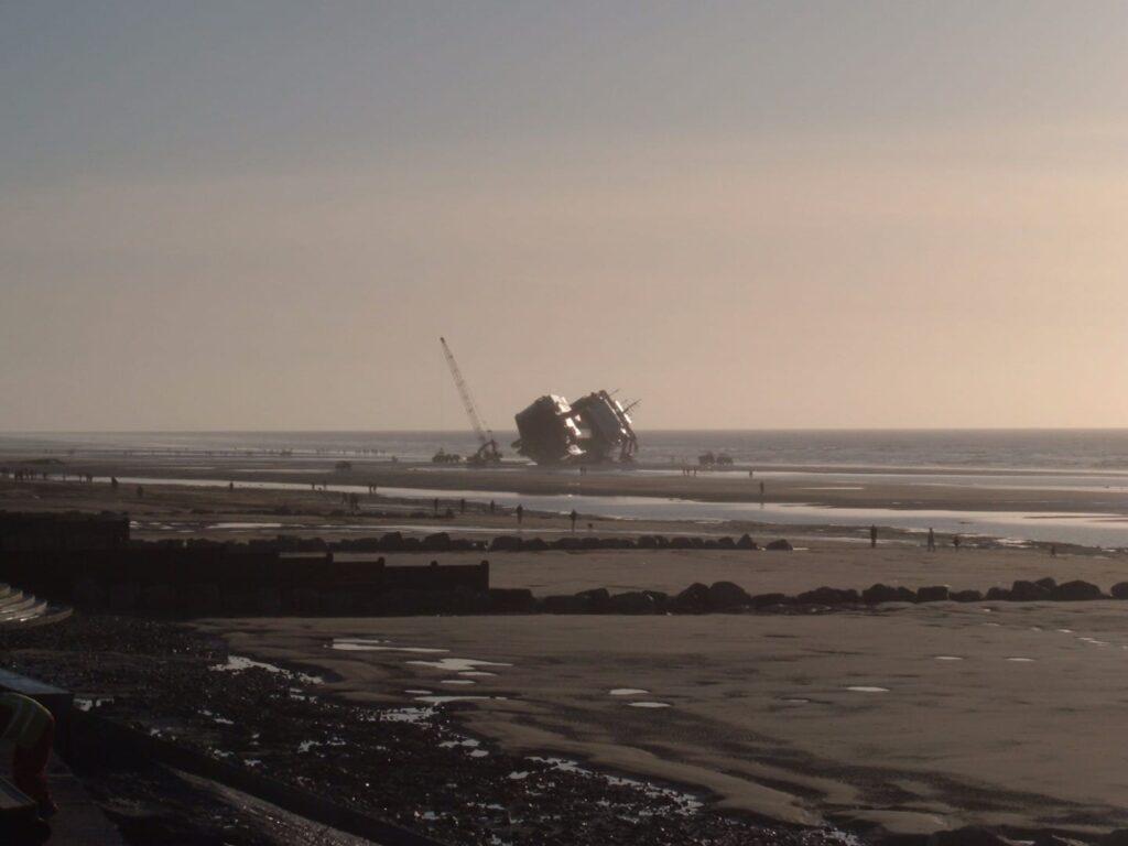 Riverdance Shipwreck on 6.2.08