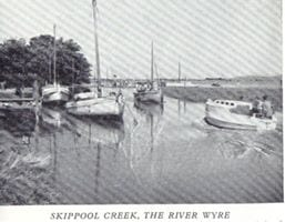 This postcard of Skippool Creek in days gone by was shared by Visit Fylde Coast Contributor Juliette Gregson