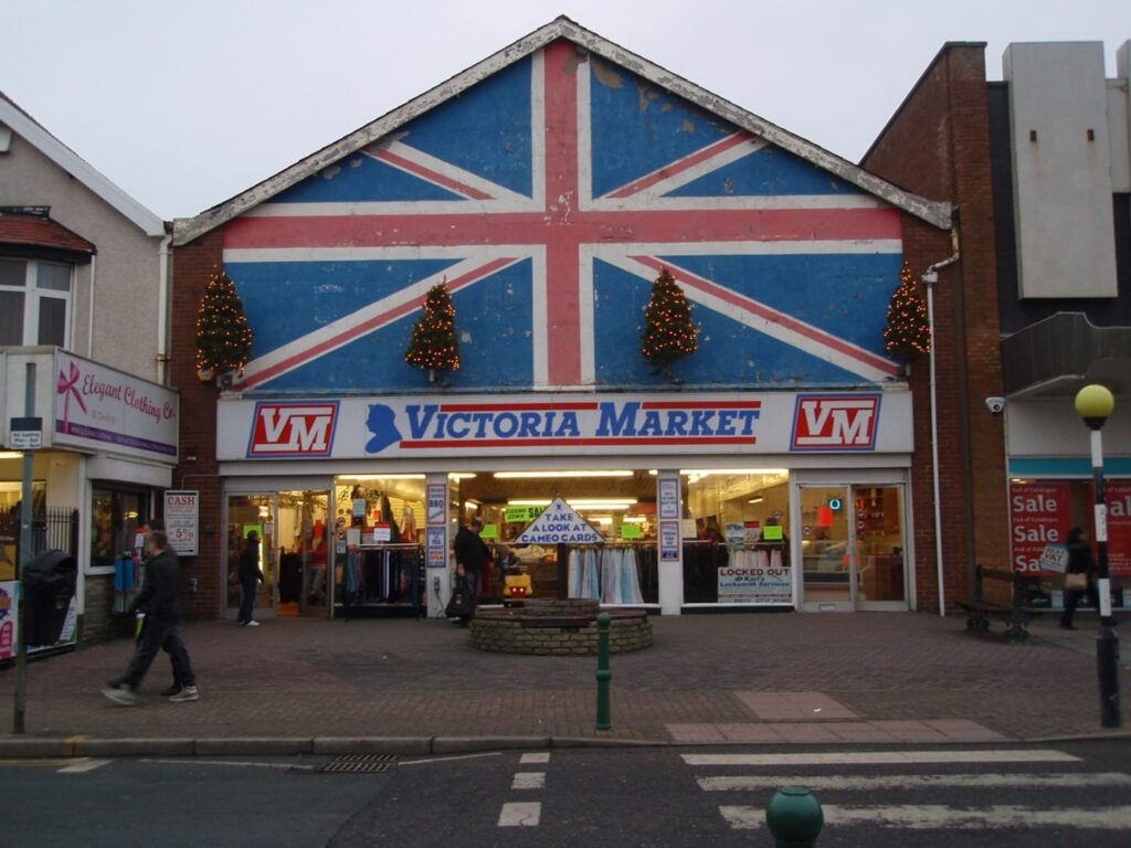 The former Victoria Market, Cleveleys, just before it closed. Photo: Visit Cleveleys