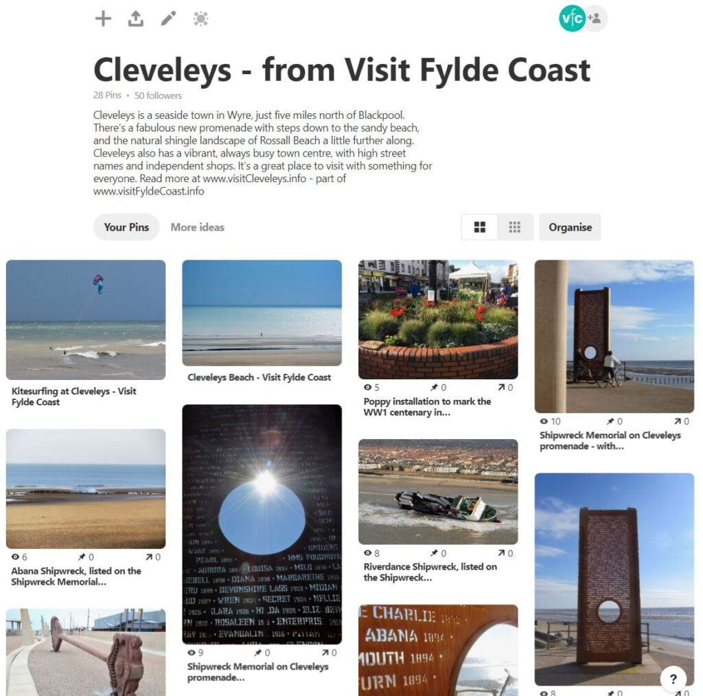 Cleveleys Photo Gallery - explore on Pinterest