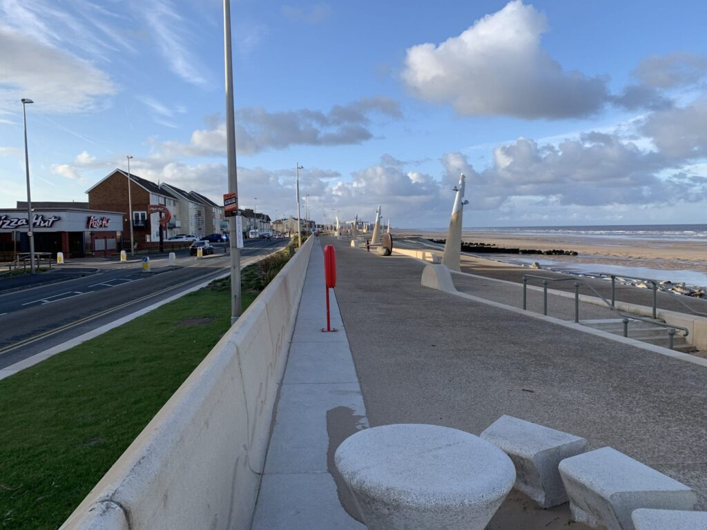 Find the Paddle on Cleveleys promenade, opposite Jubilee Leisure Park