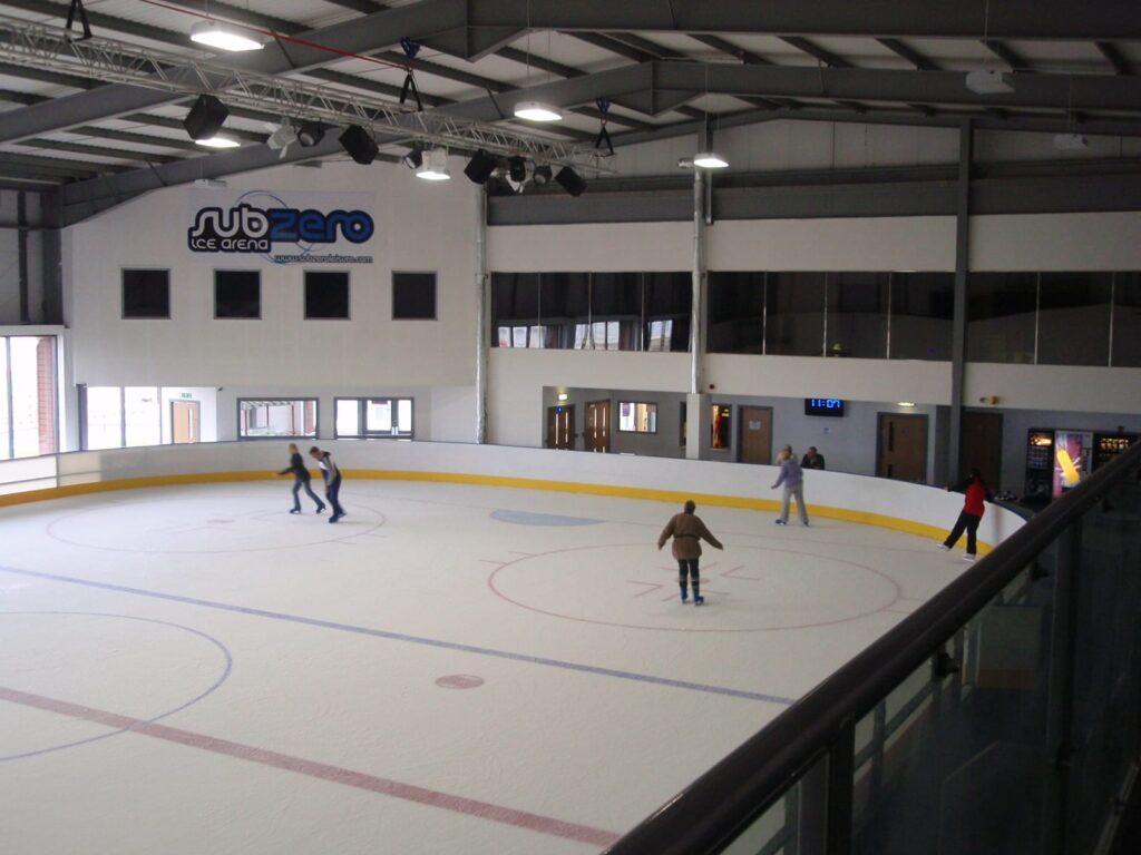 Sub Zero Ice Arena opens, May 2011. Photo: Visit Cleveleys
