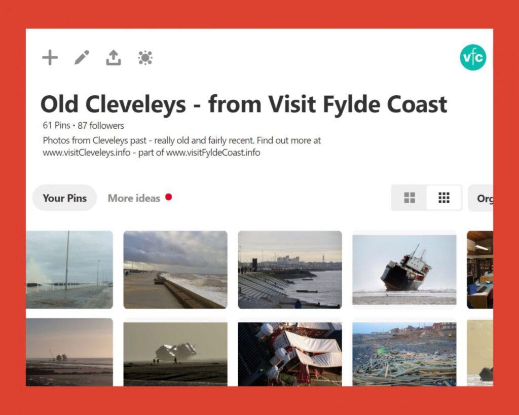 Old Cleveleys Pinterest Board from Visit Fylde Coast
