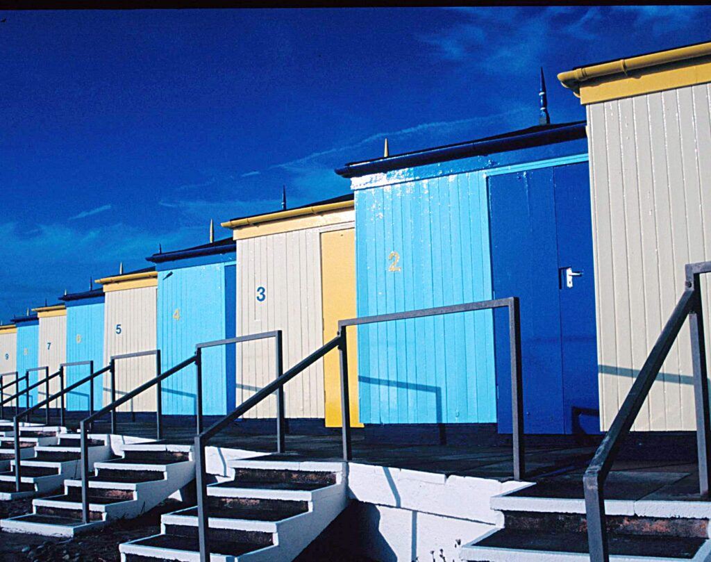 Former Cleveleys Beach Huts