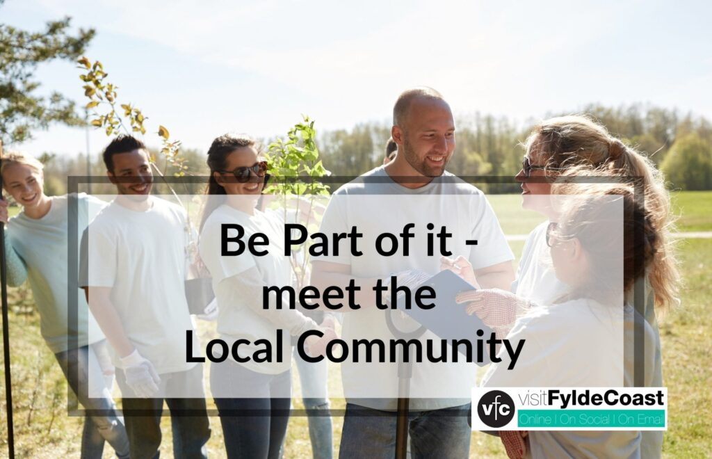 Be part of it - meet the Cleveleys Community