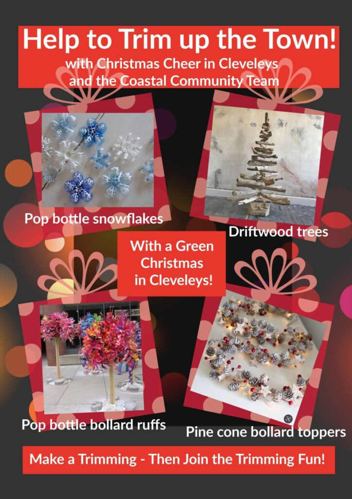 Help to Trim up the Town, for a Community Christmas in Cleveleys