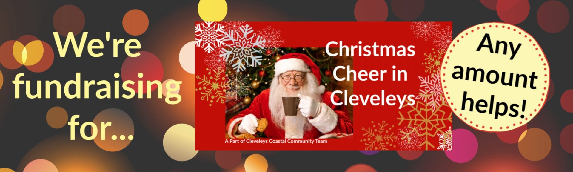 Fundraising for Christmas Cheer in Cleveleys