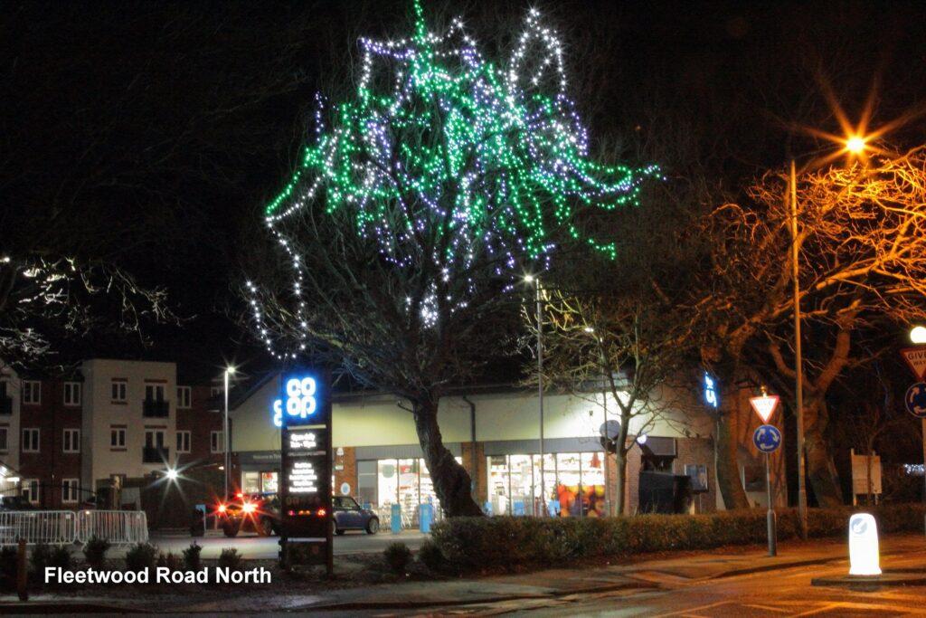 Christmas Lights at Fleetwood Road North