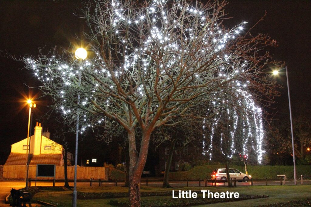 Thornton Christmas Lights at the Little Theatre